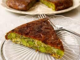 طرز تهیه کوکو باقلا سبز