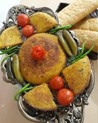 طرز تهیه کوکو اشپل ماهی بدون برگ سیر