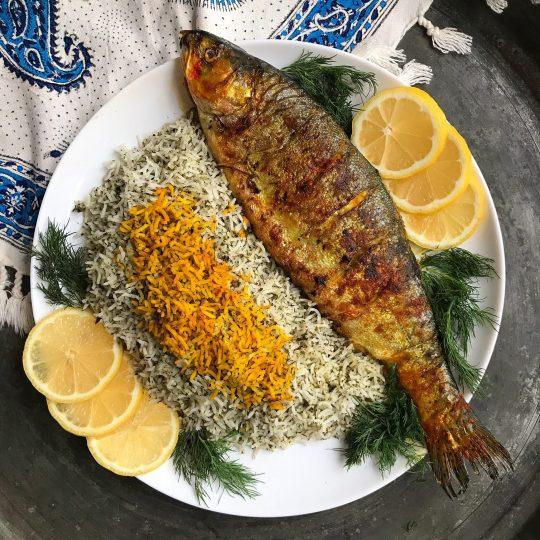 طرز تهیه ماهی شکم پر مرحله به مرحله