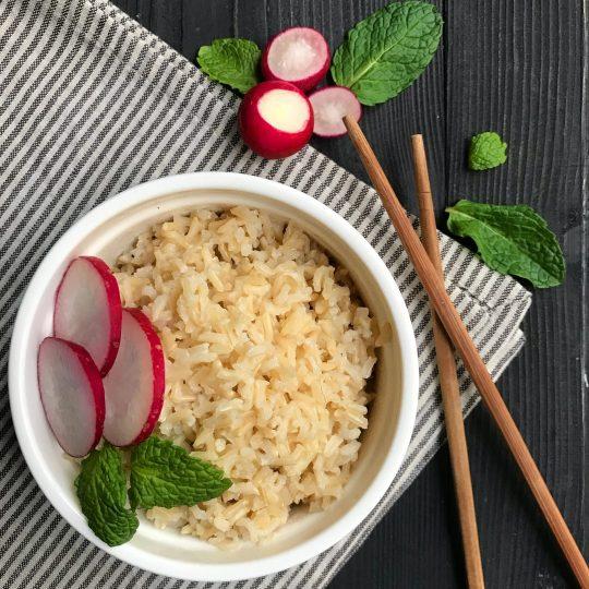 طرز تهیه نحوه پخت برنج قهوه ای