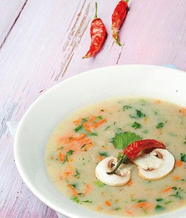 طرز تهیه سوپ سفيد، پرطرفدارترين سوپ مجلسی