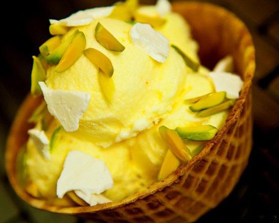 طرز تهیه بستنی سنتیِ خانگی
