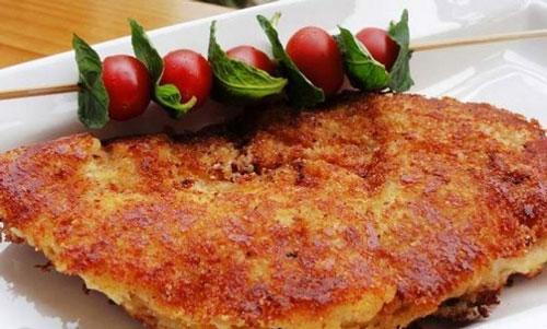 طرز تهیه کوکو مرغ گیلانی (چخرتمه بادکوبه ای)+ سس مخصوص