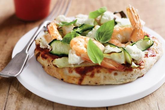 طرز تهیه ۶ پیتزا سالمون و میگو، پیتزا دریایی متفاوت