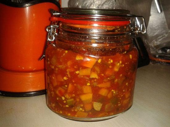 طرز تهیه ترشی لیته گوجه فرنگی