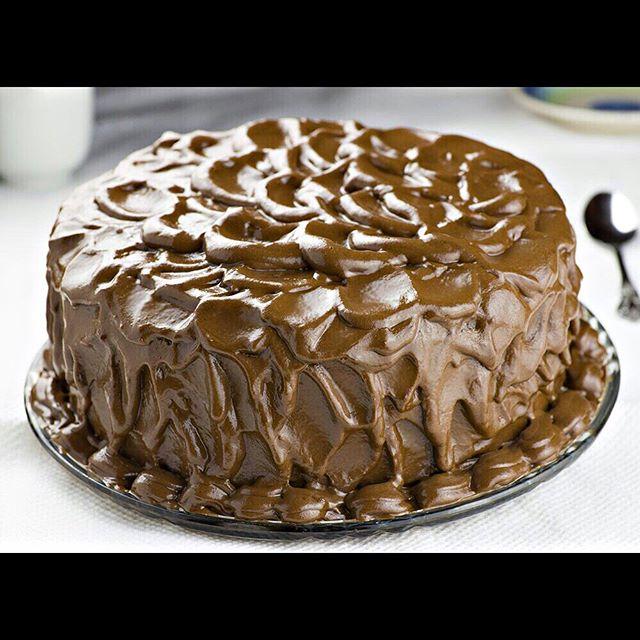 طرز تهیه کیک شکلاتی خطرناک
