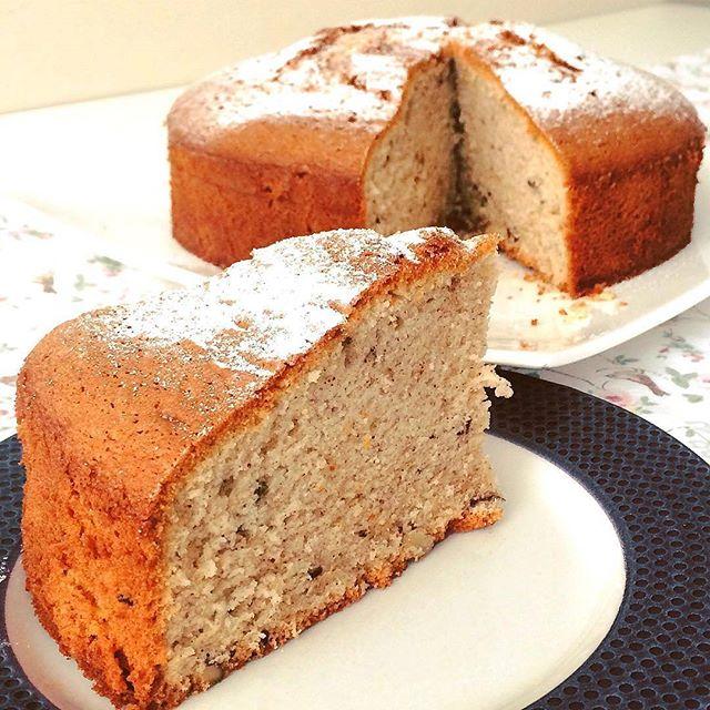 طرز تهیه کیک دارچین، زنجبیل و گردو