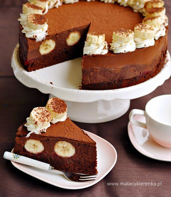 طرز تهیه دسر سه لایه شکلاتی با موز