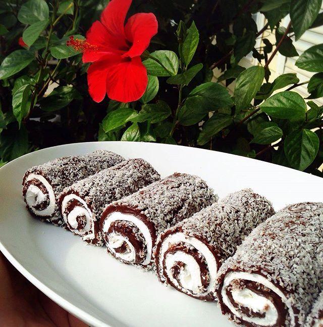طرز تهیه رول شکلاتی(سارای سارماسی)
