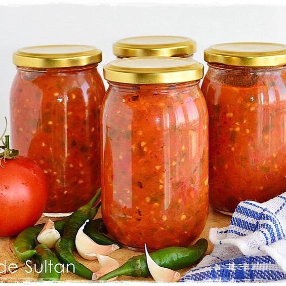 طرز تهیه سس گوجه فرنگی تند تند
