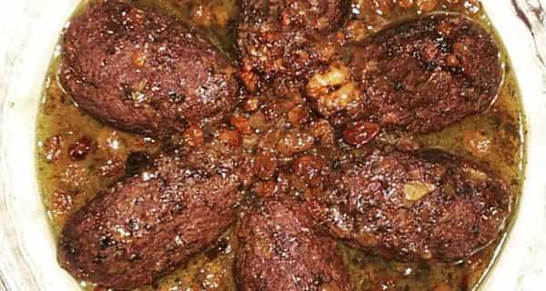 طرز تهیه هلو کباب