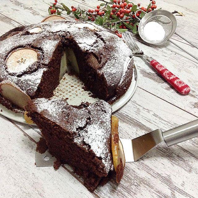 طرز تهیه کیک گلابی