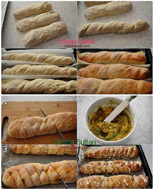 طرز تهیه نان باگت سیری