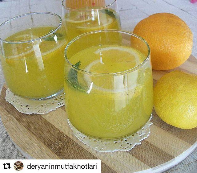 طرز تهیه ليموناد پرتقالی