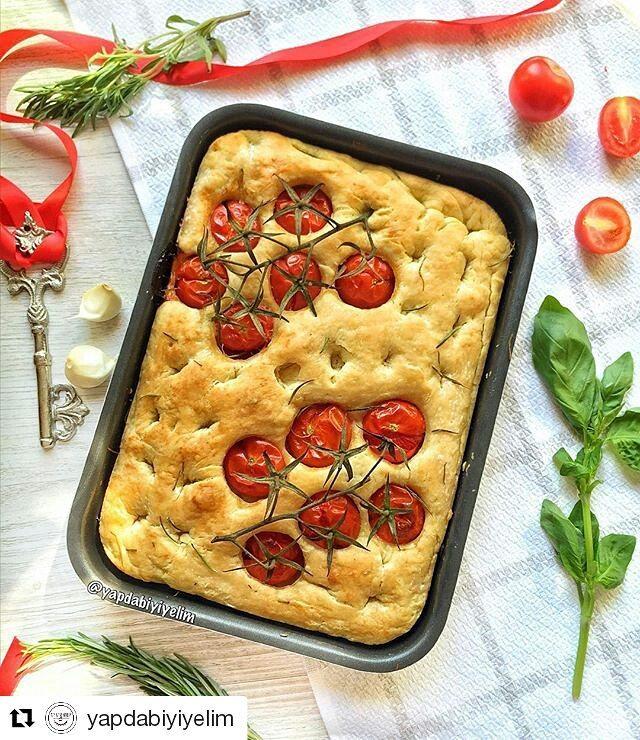 طرز تهیه نان فوکاچا(فوکاچيا)