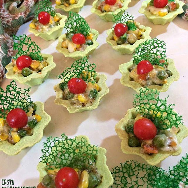 طرز تهیه تارت سبزیجات