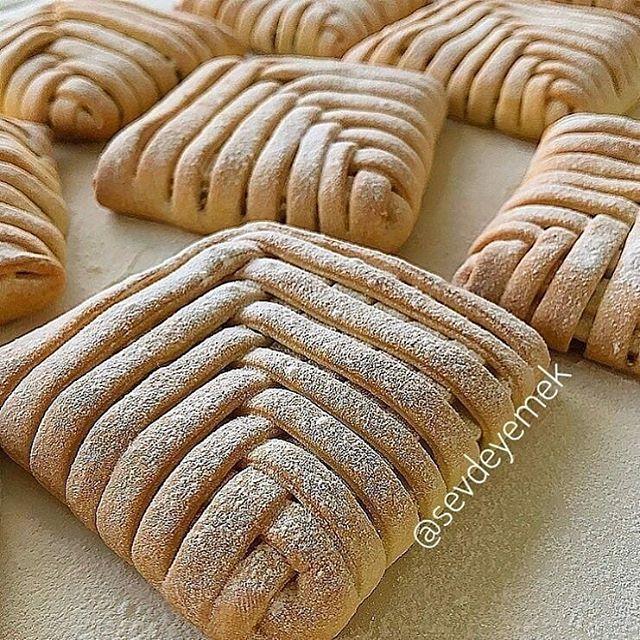 طرز تهیه نان قفس با سیب (نان سیب)