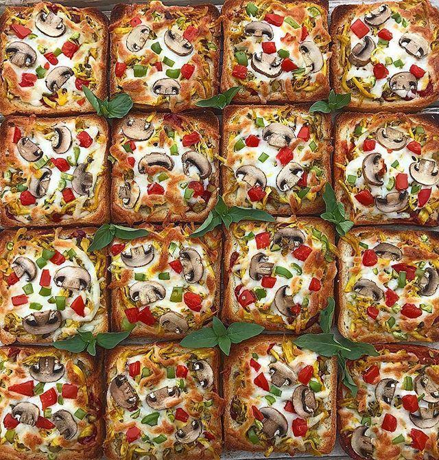 طرز تهیه پیتزا لقمهای