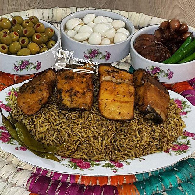 طرز تهیه دمپخت ماهی بوشهری لخ لاخ