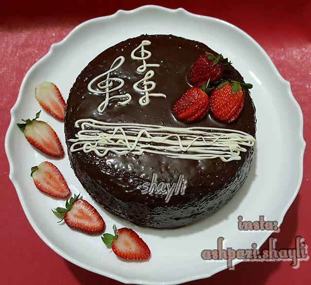 طرز تهیه کیک شیفون موکا