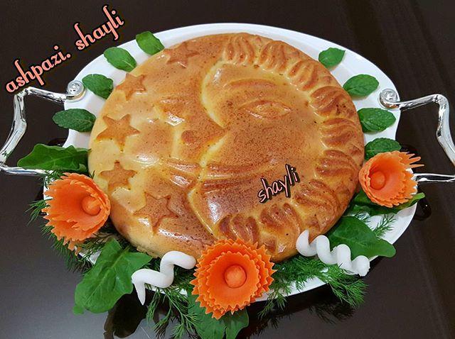 طرز تهیه کیک گوشت